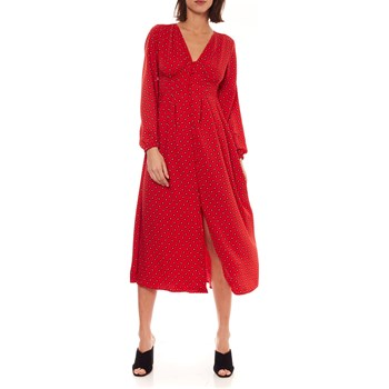 Only - Robe fluide - rouge