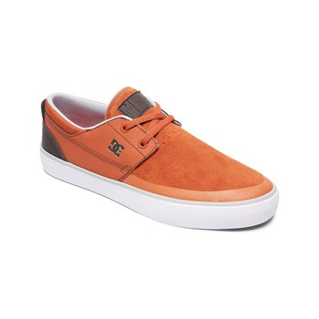 Dc Shoes - Sneakers in pelle - cammello