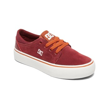 Dc Shoes - Sneakers in pelle - bordeaux