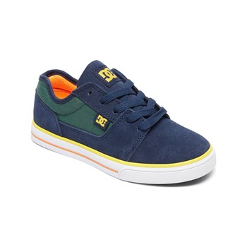 Dc Shoes - Sneakers in pelle - blu marine