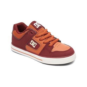 Dc Shoes - Sneakers in pelle - arancione