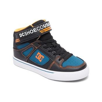 Dc Shoes - Sneakers alte in pelle - nero
