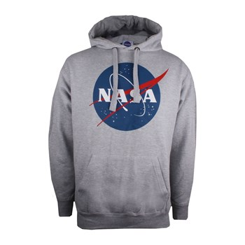 Nasa - Sweat à capuche - gris chiné