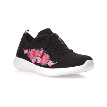 ULTRA FLEX - BASKETS BASSES - NOIR Skechers