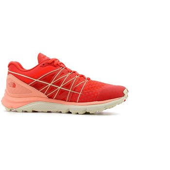 The North Face - Ultra vertical w - Chaussures de running - rouge