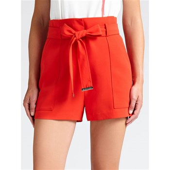 SHORT DÉTAIL CEINTURE - ORANGE Marciano Los Angeles