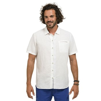 Oxbow - Colins - Chemise en lin - blanc
