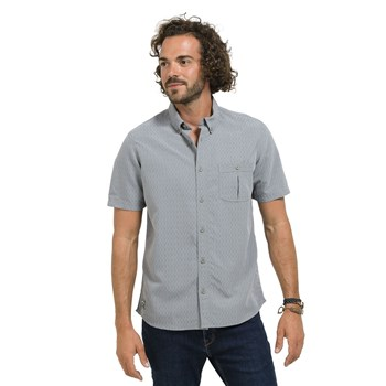 Oxbow - Carata - Chemise manches courtes - gris