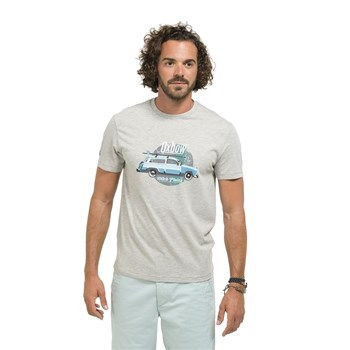 Oxbow - Terp - T-shirt manches courtes - gris chine