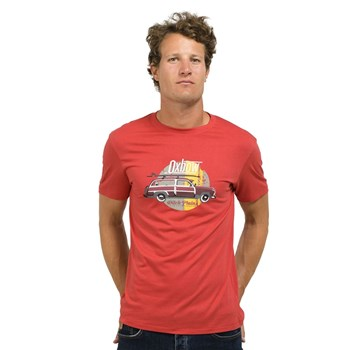 Oxbow - Terp - T-shirt manches courtes - rouge
