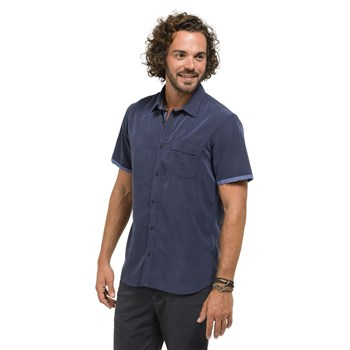 Oxbow - Cerona - Chemise manches courtes - bleu jean