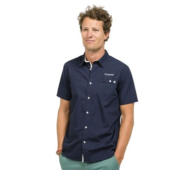 Oxbow - Cantana - Chemise manches courtes - bleu