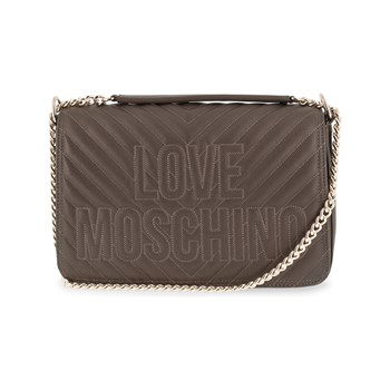 Love Moschino - Sac porté épaule - taupe