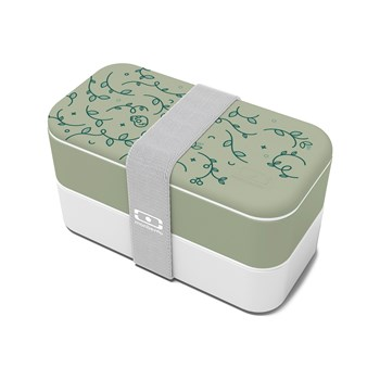 monbento - English Garden - Lunch box MB Original - vert chêne