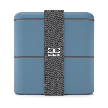 monbento - Lunch box MB Square - bleu jean