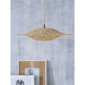 Cyrillus - Suspension soucoupe en bambou - naturel
