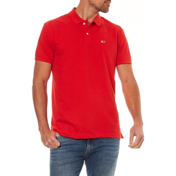 POLO MANCHES COURTES - ECARLATE Tommy Jeans