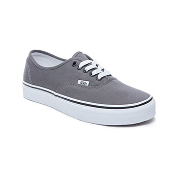 Vans - UA Authentic - Slip-ons - grau