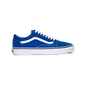 UA OLD SKOOL - BASKETS BASSES - BLEU Vans