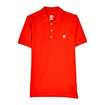 Timberland - Polo manches courtes - rouge