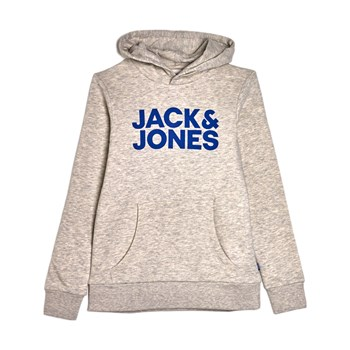 Jack & Jones Kids - Jjecorp - Sweat à capuche - blanc
