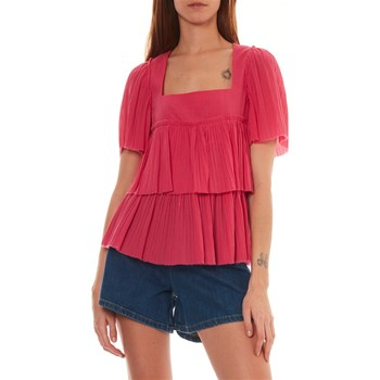 Sonia Rykiel - Blouse à volants - rose