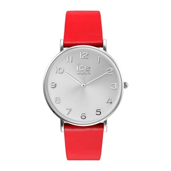 Ice-Watch - City tanner - Analoguhr Small aus Leder - rot