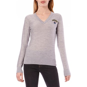 Sonia by Sonia Rykiel - Pull 100% laine - gris