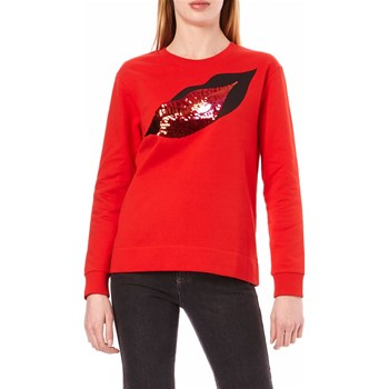 Sonia by Sonia Rykiel - Sweat sequins à motif lèvres - rouge