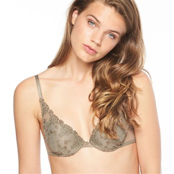 WHITE NIGHTS - SOUTIEN-GORGE PUSH-UP - OLIVE Passionata