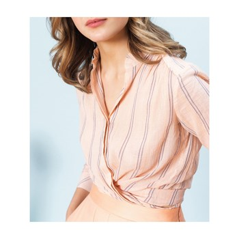 Caroll - Chemise manches longues - vieux rose