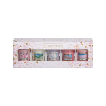 Yankee Candle - EVERYDAY - Coffret 5 Votives - rose