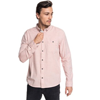 Quiksilver - Chemise manches longues - rose