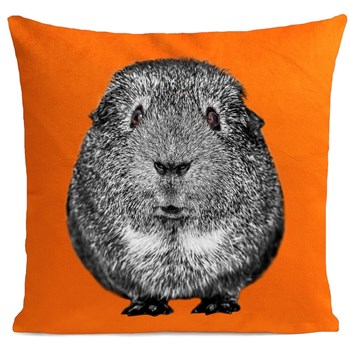 Artpilo - Quenotte - Coussin velours 380 g/m² - orange