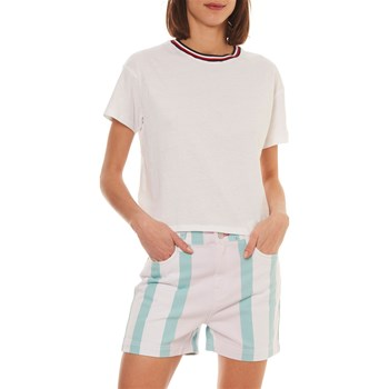 Tommy Jeans - T-shirt manches courtes - blanc