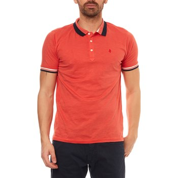 MCS - Polo manches courtes - orange