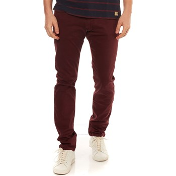 MCS - Pantalon - bordeaux