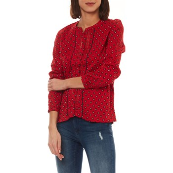 Only - Olivia - Blouse - rouge