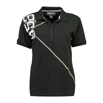 Geographical Norway - Kenvie - Polo manches courtes - noir