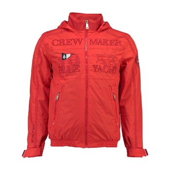 Geographical Norway - Cacao - Veste - rouge
