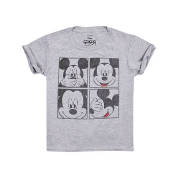 Mickey Mouse - Mickey Grid - T-shirt - gris