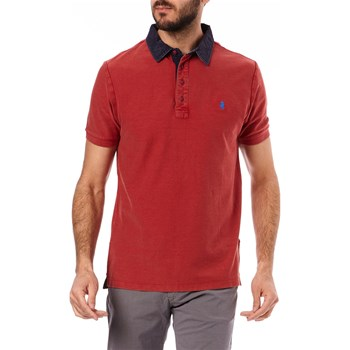 MCS - Polo manches courtes - rosso