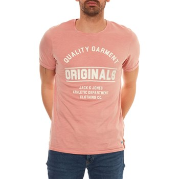 Jack & Jones - Jorinstante - T-shirt manches courtes - rose
