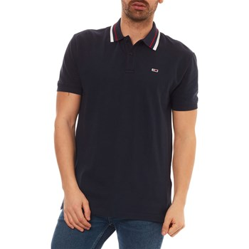 POLO MANCHES COURTES - BLEU Tommy Jeans