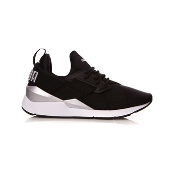 size 40 84adc 30fe1 Puma - Muse Satin II - Baskets basses - noir. Black Friday