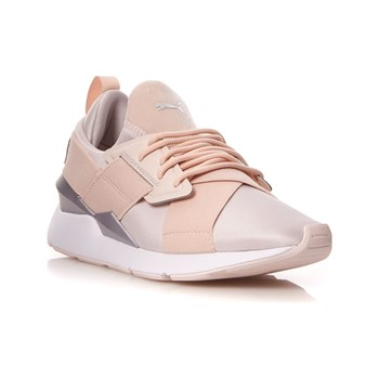 Puma - Muse Satin II - Baskets basses - rose