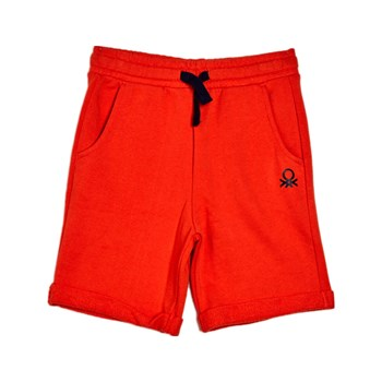 Benetton - Short - naranja