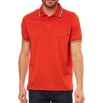 Jeep - Polo manches courtes - rouge