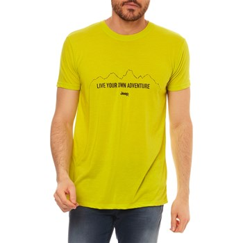 Jeep - T-shirt manches courtes - anis