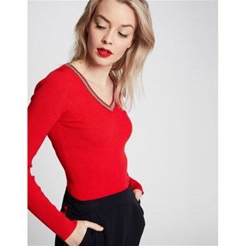 Morgan - Pull tricot - rouge